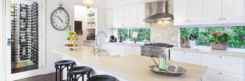 Deco Salon Blanc Bleu :  de cuisine à Repentigny, Lanaudière  Design intérieur de cuisine